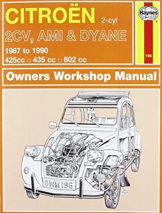 Bol Com Citroen 2cv Owner S Workshop Manual Ian Coomber