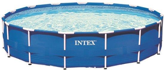 intex frame pool zwembad 366 x 76 cm. Black Bedroom Furniture Sets. Home Design Ideas