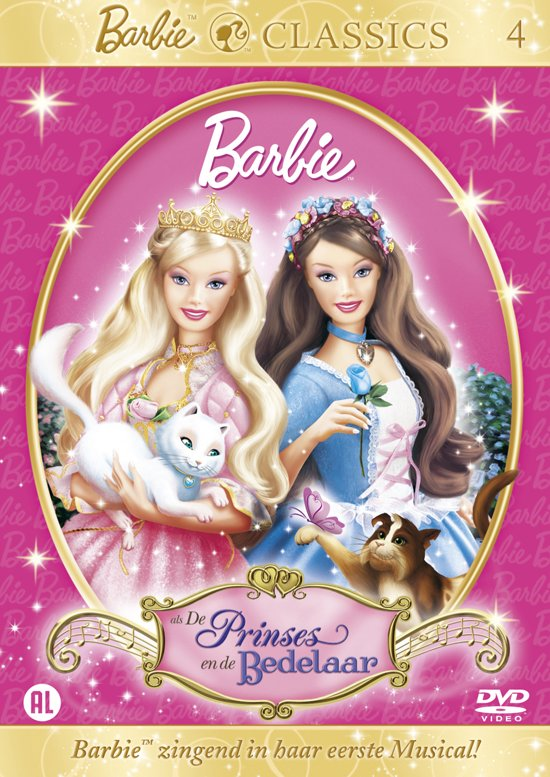 Bol Com Barbie De Prinses En De Bedelaar Animation