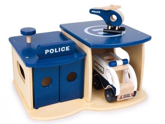 Base Toys Houten Politie Bureau
