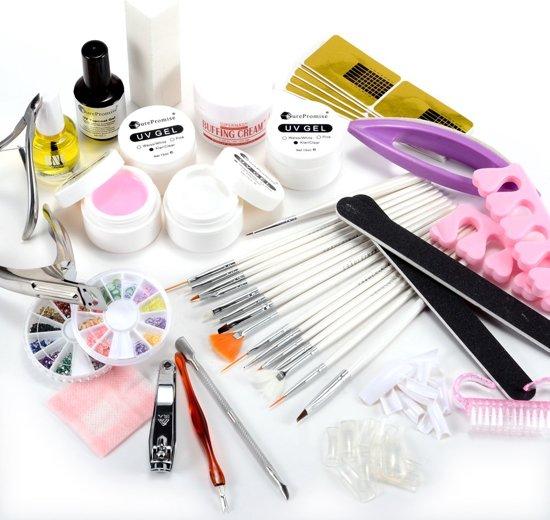Nail Art Starter Kit: Gellak Gelnagels Starter Kit - Gel Nagellak