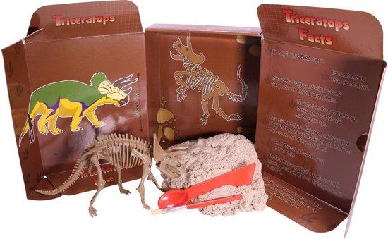 Kinetic Sand - Dinosauruseditie - Triceratops in Foxholsterbosch