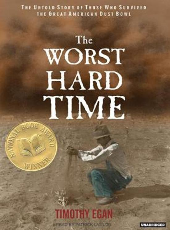 """the worst hard time The lawrence public library will help members of the community get on the  same page by handing out free copies of """"the worst hard time,""""."""