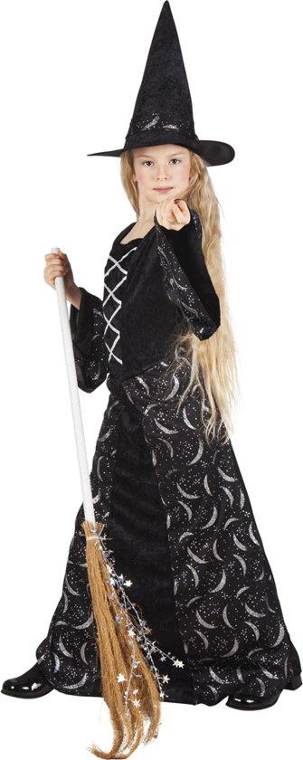 Kostuum Midnight Heks - 4-6 Jaar in De Tippe
