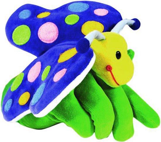 Beleduc Vlinder Speelhandschoen - Handpop in Ellewoutsdijk