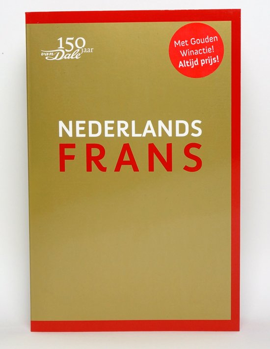 bol.com | Van Dale pocketwoordenboek Nederlands-Frans ...