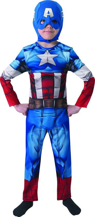 Captain America Kinderkostuum Maat S 3-4 Jaar in Andijk