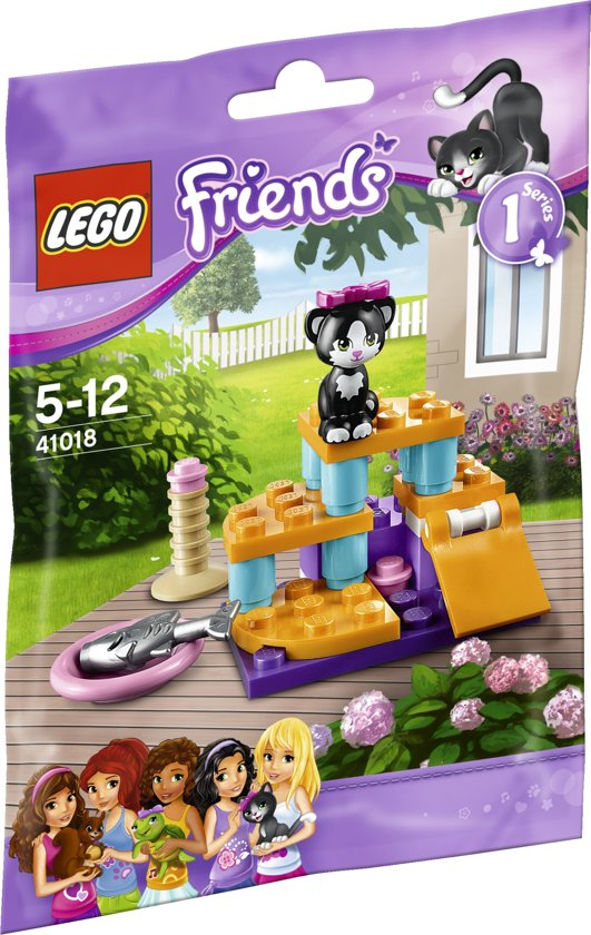 LEGO Friends De Speelplaats van Kat - 41018 in Oudkarspel