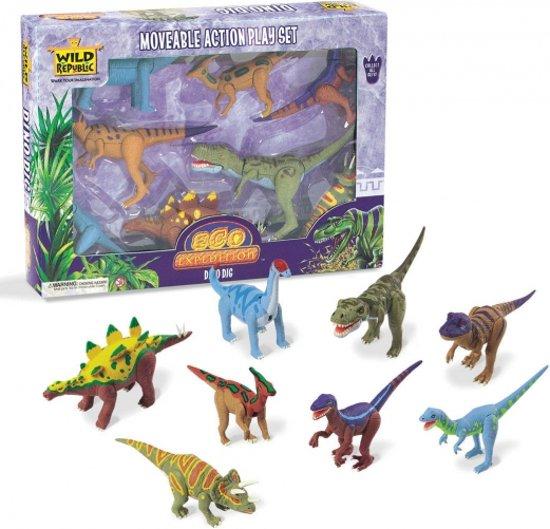 Dinosaurus speelgoed set in Suttum