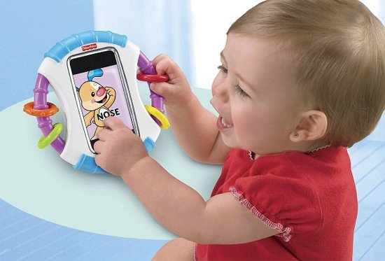 Fisher-Price Leerplezier iPhone Houder & Bijtring in Elsegem