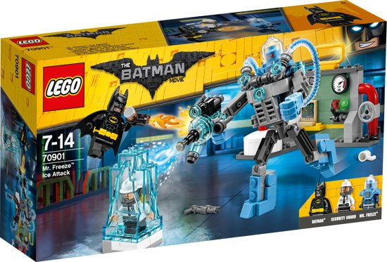 LEGO Batman Movie Mr. Freeze IJs-aanval - 70901 in Balinge