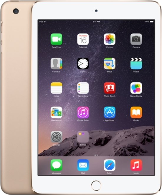 Apple iPad mini 3 16GB Goud