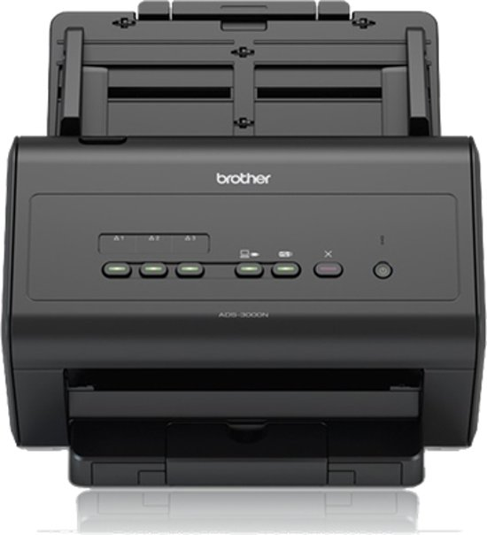 Brother ADS-3000N ADF 600 x 600DPI A4 Zwart scanner
