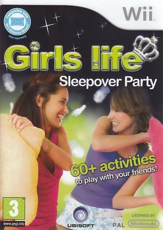 Girls Life: Pyjama Party