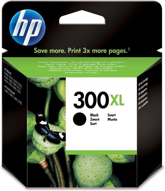HP 300XL - Inktcartridge / Zwart / Hoge Capaciteit (CC641EE)
