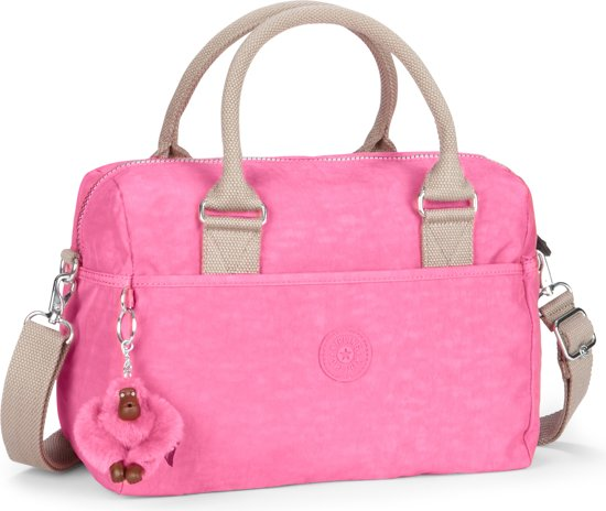 Bolsa De Mão Da Kipling : Bol kipling beonica handtas bubblegum c roze