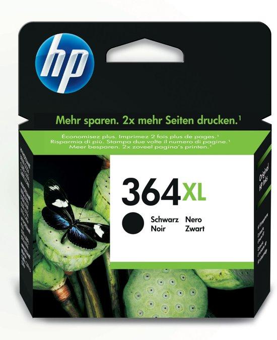 HP 364XL - Inktcartridge / Zwart / Hoge Capaciteit
