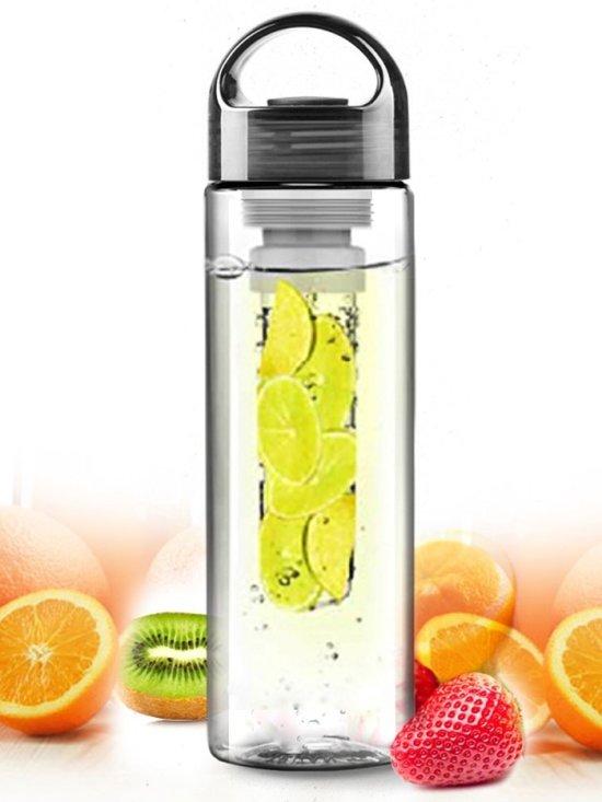 Fruitwater fles fruit infuser zwart for Nep fruit waar te koop