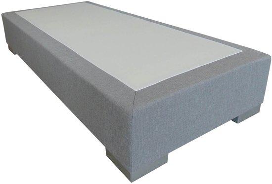 slaaploods deluxe boxspring 120 x 210 cm grijs wonen. Black Bedroom Furniture Sets. Home Design Ideas