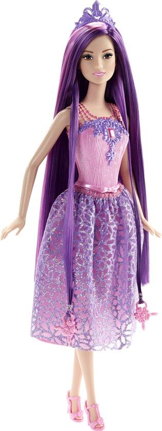 Barbie bijzonder lang haar prinses paars - Desanime de barbie princesse ...