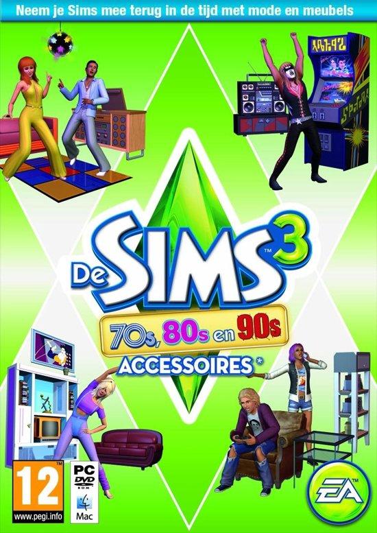 De Sims 3: 70s, 80s & 90s Accessoires