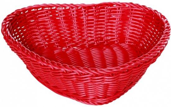 Rode Keukenapparaten : bol.com Rode rieten mand hartvormig Koken en tafelen