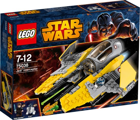 Lego star wars jedi interceptor 75038 lego - Vaisseau star wars anakin ...