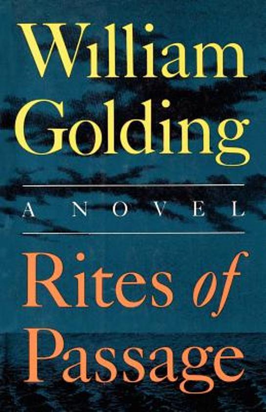 Rites of passage william golding for Portent of passage 6