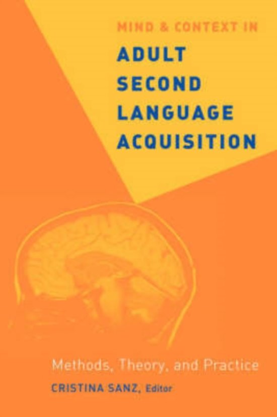 Mind and context in adult second language acquisition