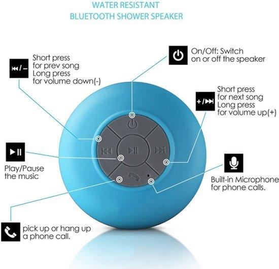 Bol Com Blauwe Mini Waterdichte Wireless Bluetooth