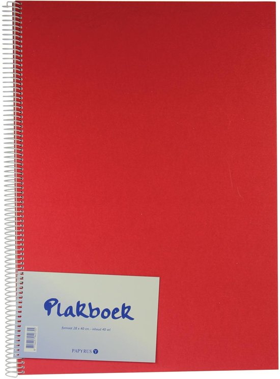 Fotoplakboek formaat 40 x 28 cm in Graauw