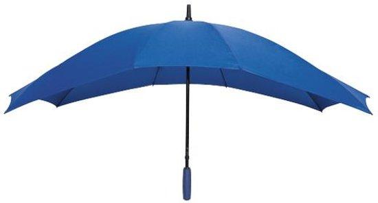 Falcone Duo Paraplu - Ø 148 cm - Kobaltblauw in Roborst
