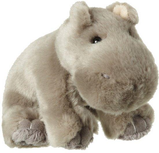 Pluche nijlpaard knuffel 12 cm in Nieuw-Namen