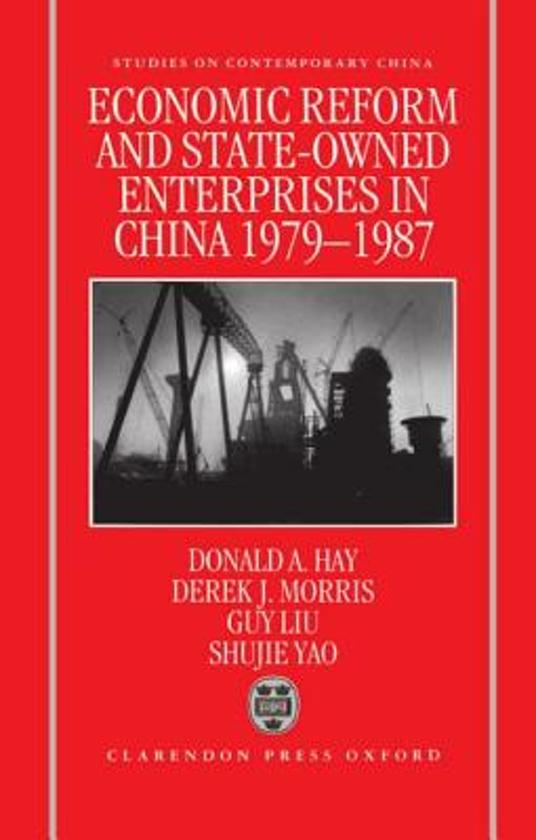 the reform of state owned enterprises in china Springerlink search springerlink search  'productivity performance and priorities for the reform of china's state-owned enterprises,' the journal of development.