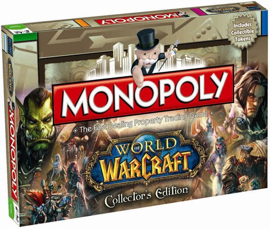 Monopoly World of Warcraft - Bordspel in Marcq/Mark