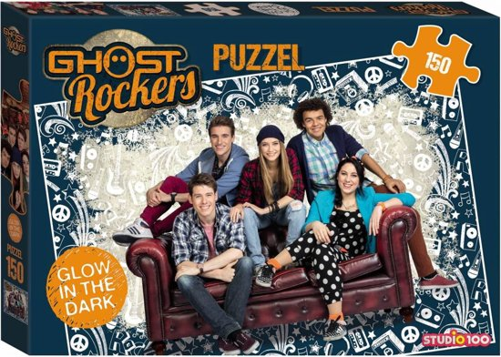 Ghost Rockers puzzel glow-in-the-dark
