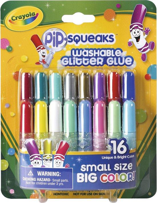 Crayola Glitterlijmtubes - 16 Stuks in Oorbeek