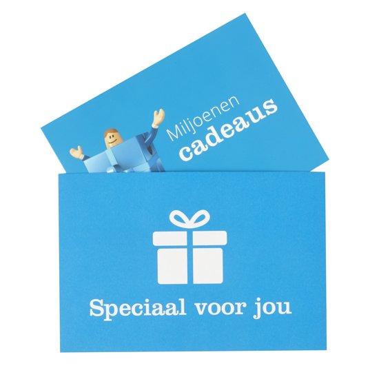 Bol.com verzendenvelop cadeaukaart