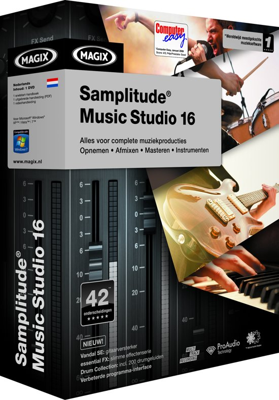 Samplitude music studio 15