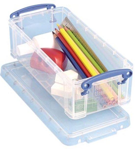 Really Useful Box pennenbakje 09 liter transparant in Winterswijk Henxel