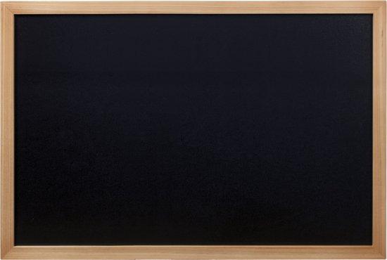 Securit Krijtbord 80x60cm - teak in Hoogewaard