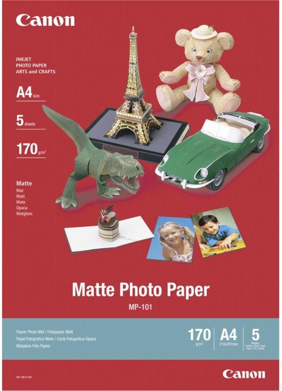 Canon Matte Photo Paper pak fotopapier