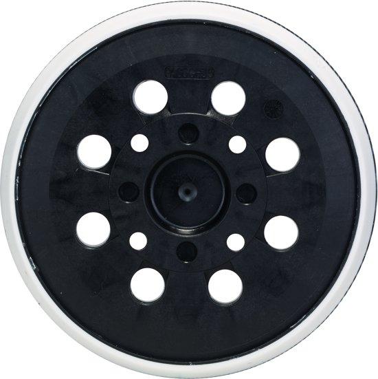 bosch schuurplateau voor pex 300 400 ae 125 mm 8 gaten middelhard. Black Bedroom Furniture Sets. Home Design Ideas