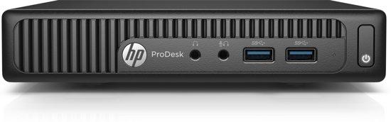 HP ProDesk 400 G2 DM 2.5GHz i5-6500T 1 liter PC Zwart