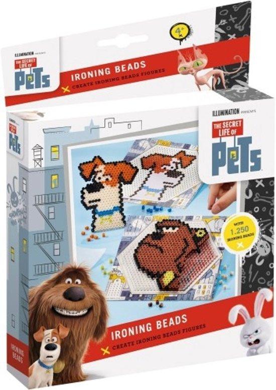 Secret life of Pets Iron on beads - strijkkralen creaties in Helhuizen