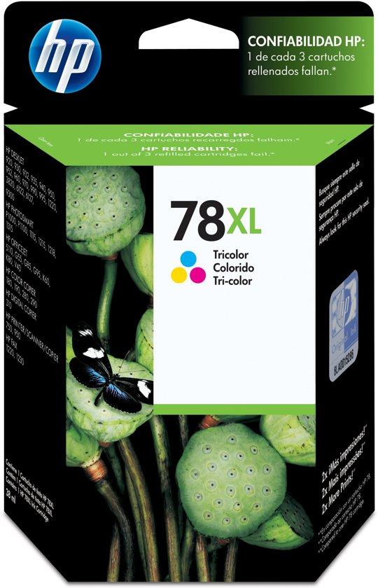 HP 78 - Inktcartridge / Geel / Cyaan / Magenta (C6578A)