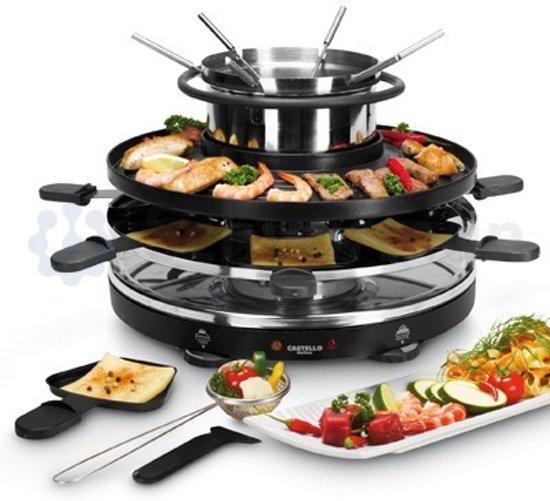 fritel castello 130002 grill gourmetset en fondueset. Black Bedroom Furniture Sets. Home Design Ideas