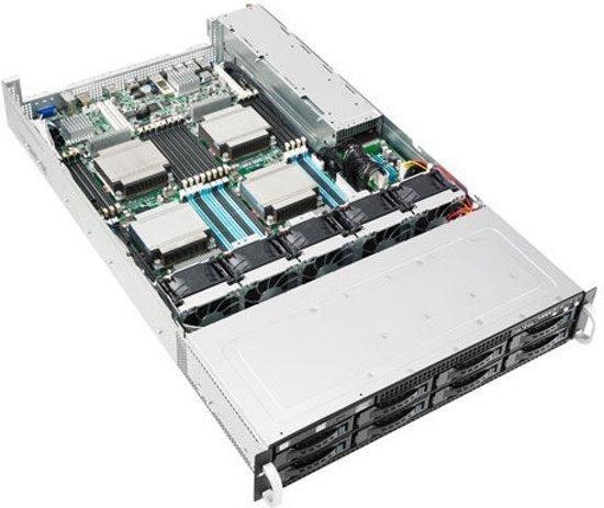 ASUS RS920-E7/RS8 Intel C602 Socket R (LGA 2011) 2U Zwart
