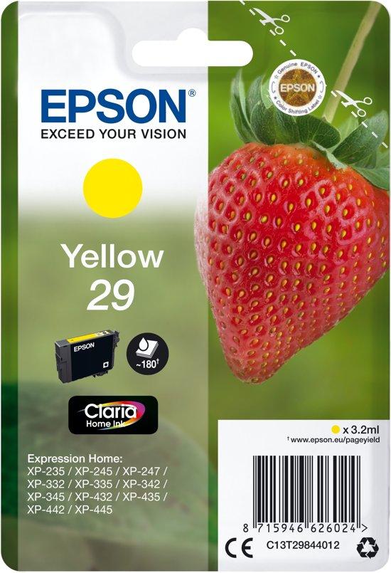 Epson 29 - Inktcartridge / Geel