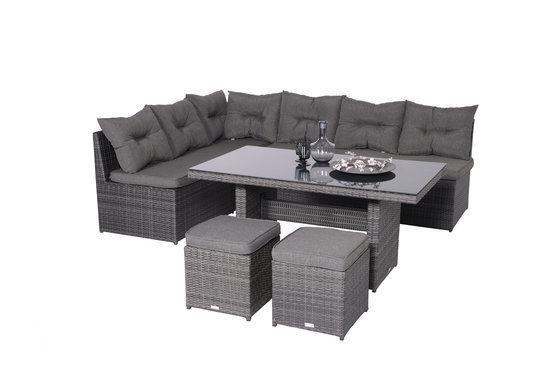 Garden Impressions - London lounge/dining set - 5-delig - Earl Grey: bhznet.nl/winkel-cat.asp?catid=32&sort=1